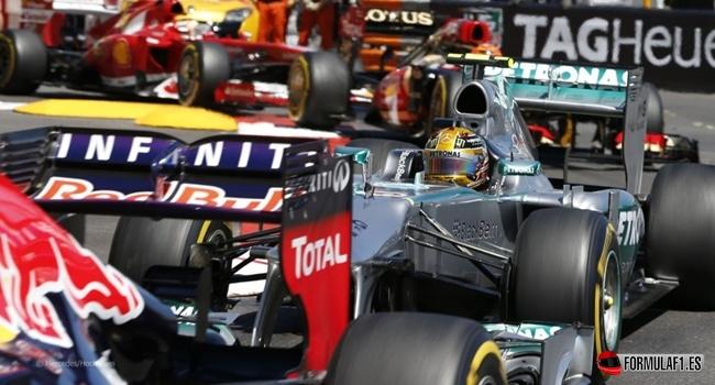 Lewis Hamilton en Mónaco 2013