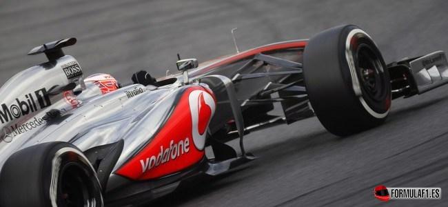 Jenson Button, McLaren, GP España 2013