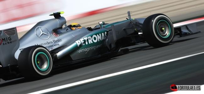 Nico Rosberg, pole position Spanish GP 2013