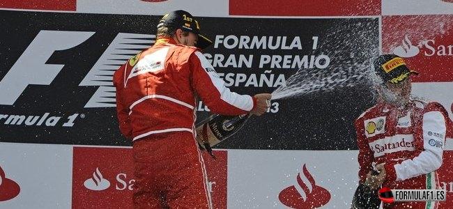 Fernando Alonso y Felipe Massa, Ferrari, GP España 2013