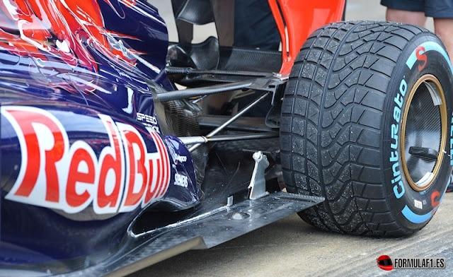 Escapes del Toro Rosso en Barcelona 2013