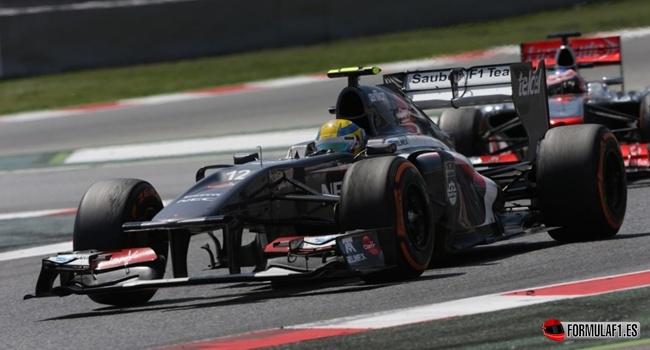 Estadísticas del GP de España 2013