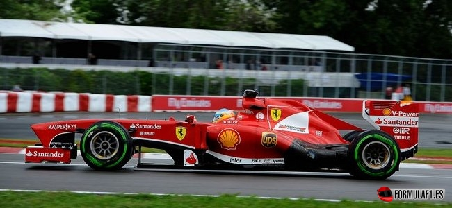 Fernando Alonso, Ferrari, GP Canada 2013