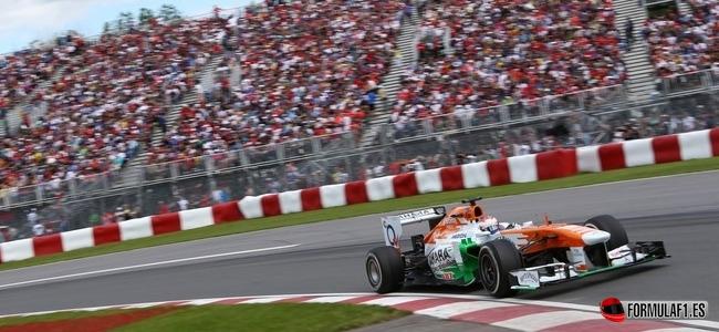 Paul di Resta, Force India, GP Canada 2013