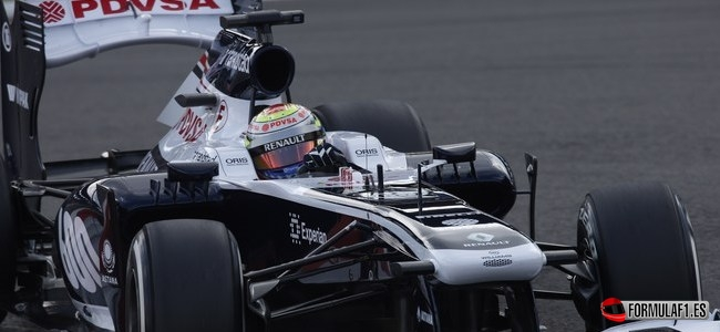 Pastor Maldonado, Williams, GP Alemania 2013