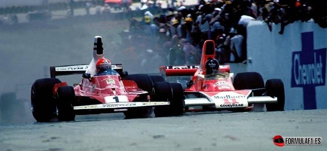 Niki Lauda, James Hunt, United States 1976