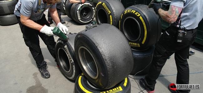 Pirelli tyres 2013 F1