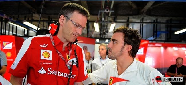 Allison, Alonso, Ferrari 2013