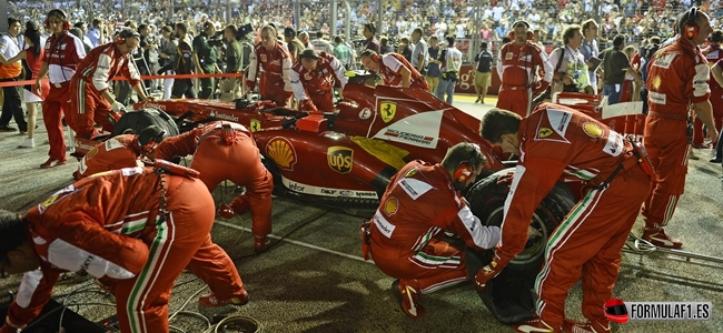 Ferrari reconoce estar completamente centrado en el monoplaza de 2014