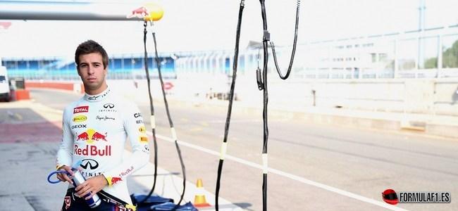 Antonio Félix Da Costa, Red Bull, Test Silverstone 2013