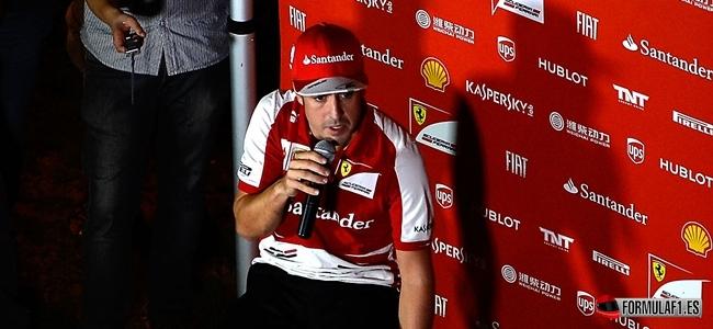 Fernando Alonso, GP India 2013