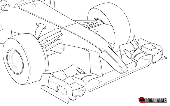 Front Wing, F1 2014