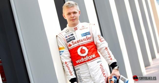 Magnussen sustituirá a Sergio Pérez en McLaren en 2014
