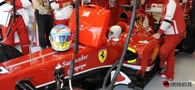 Fernando Alonso, Ferrari, GP EEUU 2013