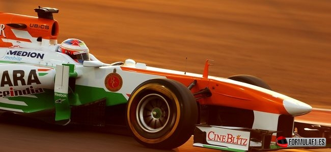 Paul Di Resta, Force India, GP Abu Dabi 2013