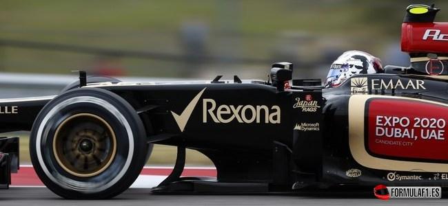 Romain Grosjean, Lotus, GP EEUU 2013