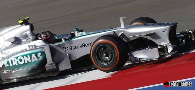 Lewis Hamilton, Mercedes, GP EEUU 2013
