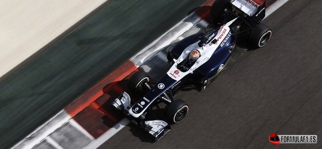 Pastor Maldonado, Williams, GP Abu Dabi 2013