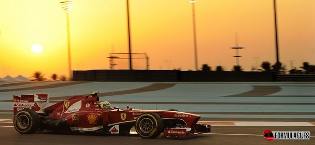 Felipe Massa, Ferrari, GP Abu Dabi 2013