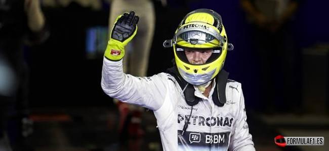 Nico Rosberg, Mercedes, GP Abu Dabi 2013