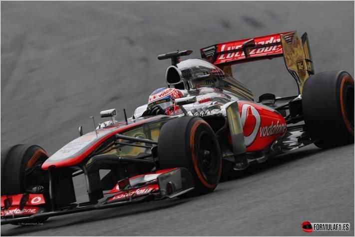 J. Button. GP Brasil 2013