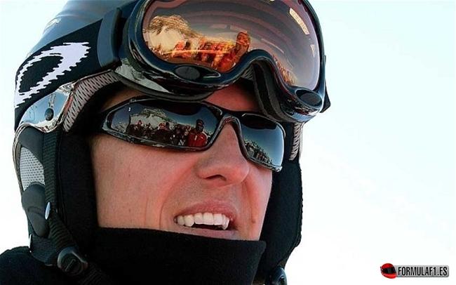 Michael Schumacher, Accidente Ski, Alpes