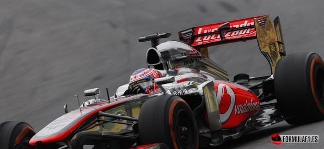 Jenson Button, McLaren, GP Brasil 2013