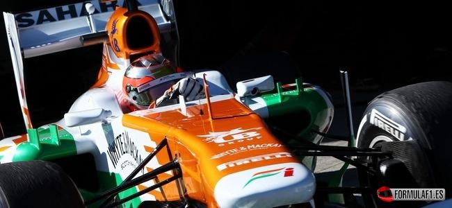 Jules Bianchi, Force India, Test Jerez 2013