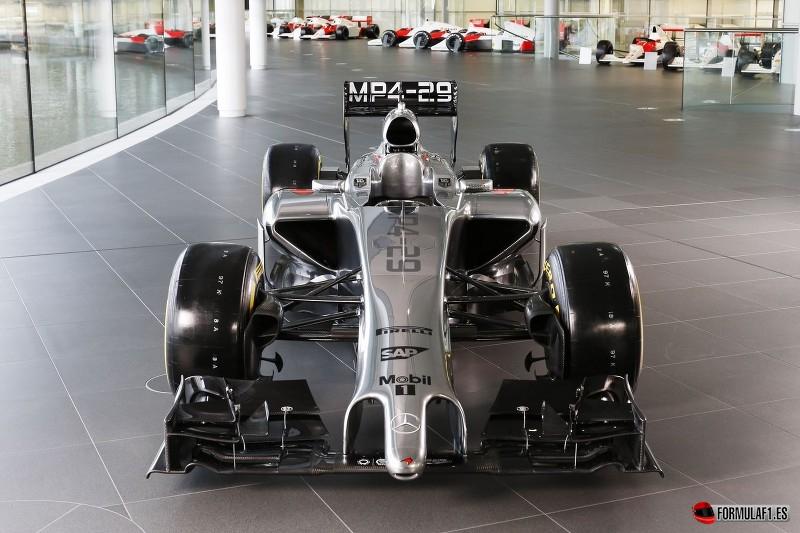 ¿Por qué los F1 de 2014 tienen esas narices tan... feas?