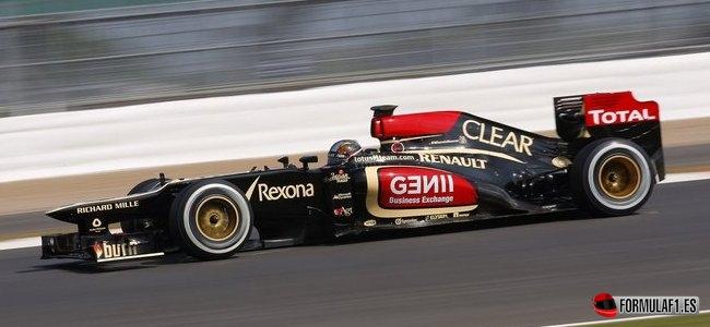Davide Valsecchi, Lotus, Test Silverstone 2013