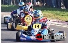 Fernando Alonso, número 14, Karting