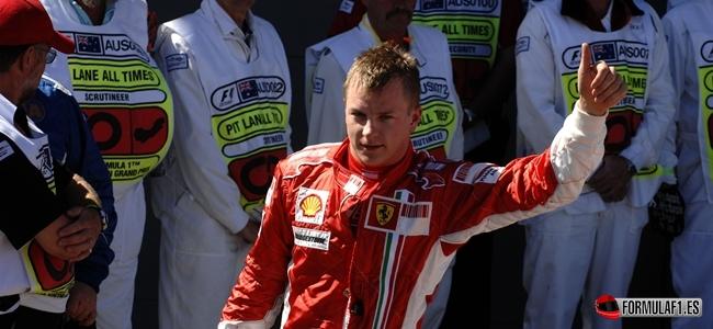 Kimi Räikkönen, GP Australia 2007, Ferrari