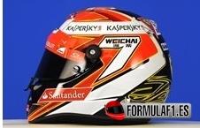 Räikkönen, número 7