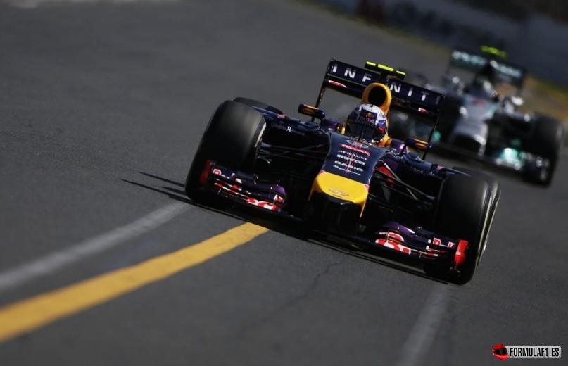 Daniel Ricciardo en Australia 2014