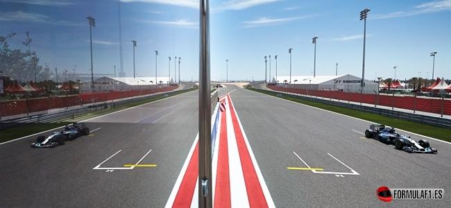 Nico Rosberg marca el ritmo en los primeros test de temporada en Baréin