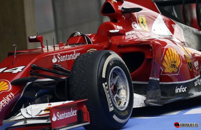Ferrari F14T en China 2014