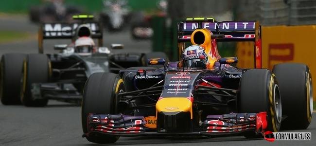Daniel Ricciardo, Red Bull, GP Australia 2014