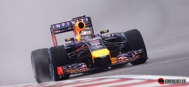 Sebastian Vettel, Red Bull, GP China 2014