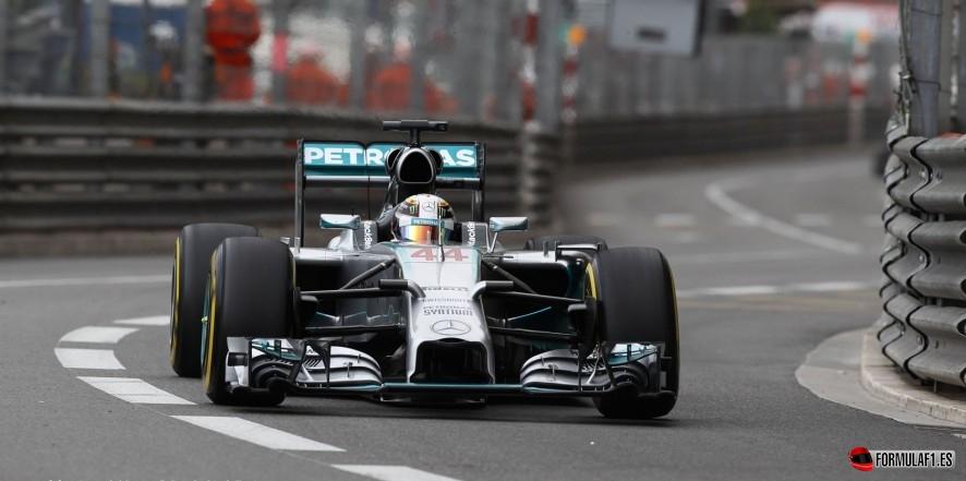 Lewis Hamilton en Mónaco 2014