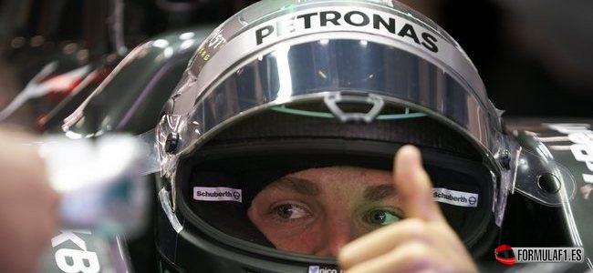 Nico Rosberg, Mercedes, GP China 2014