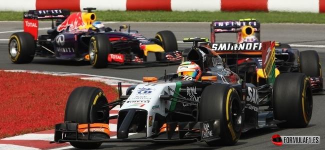 Serbgio Pérez, Force India, GP Canada 2014