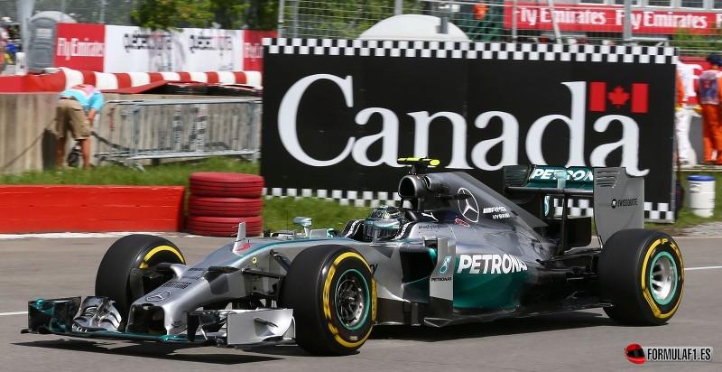 Nico Rosberg en Canadá 2014