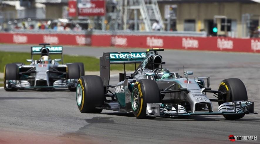¿Qué les pasó a los Mercedes en Montreal?