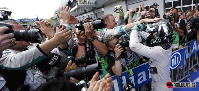 Nico Rosberg, Mercedes, GP Austria 2014