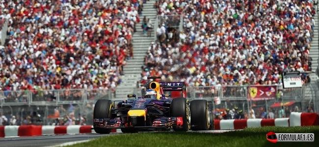 Sebastian Vettel, Red Bull, GP Canada 2014