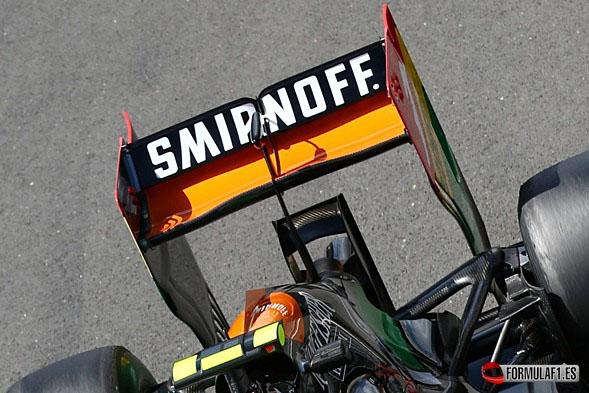 Force India en Silverstone 2014