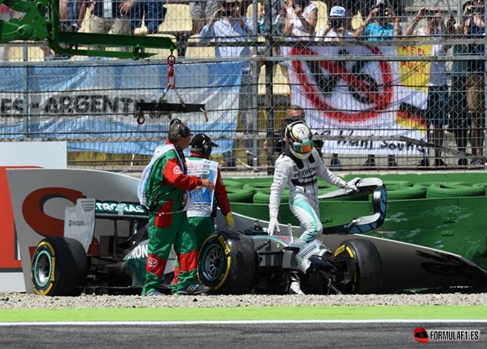 Hamilton. Calificación GP Alemania 2014