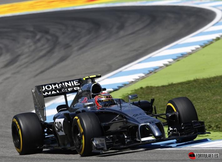 Magnussen. Calificación GP Alemania 2014