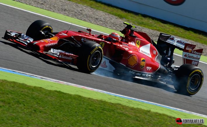 Raikkonen. Calificación GP Alemania 2014