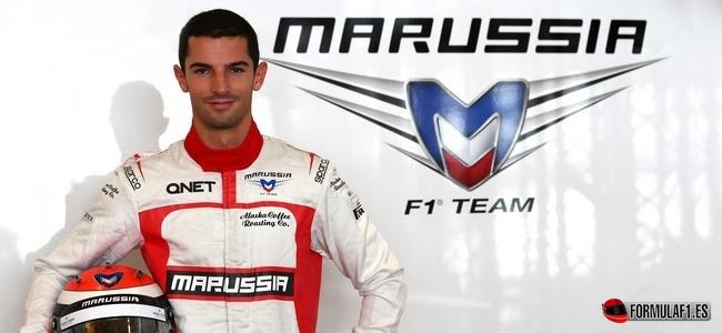 Alexander Rossi, Marussia, GP Hungría 2014